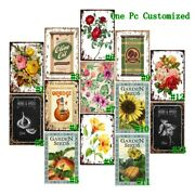 Olive Oil Sign Retro Metal Tin Signs Farm Vintage Hanging Art Wall Decor Poster