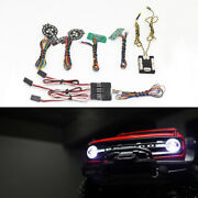 Front Rear Lamp Group Led Light System Set For Traxxas Trx-4 2021 Ford Bronco