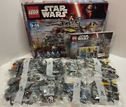 Lego Star Wars Rebels Captain Rexand039s At-te 75157 Walker 2016 Retired Open Box