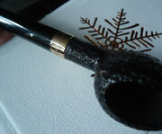 Dunhill Christmas Pipe 2005 - Snowflake - 18k Rose Gold Collar - Limited Edition