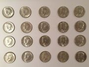 Lot Of 20 1964 Kennedy Half Dollars 90 Silver 20 Coins Circulated