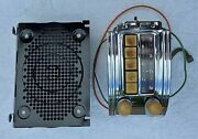 Original 1949 1950 Chevy Deluxe Pushbutton Car Radio - Restored And Plays Great