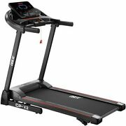 Folding Treadmills For Home With Manual Incline 2.5hp Portable Electric