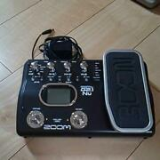 Zoom G2.1 Nu Guitar Effects And Usb Audio I / F Pedal With Ac Adapter Used