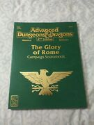 Dungeons And Dragons The Glory Of Rome Campaign Sourcebook W/map Nm Condition
