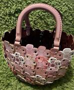 [mint] Coach 67702 Tea Rose Basket Cherry Blossom Collection Limited 100 Japan