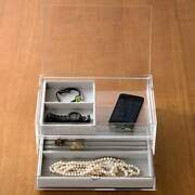 Muji Acrylic Drawer Container L -perfect For Storing Accessories From Japan