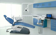 Dental Unit Chair Computer Controlled Hard Leather Fda Ce With Doctor Stool A1