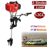 3.6hp 2stroke52cc Heavy Duty Outboard Motor Boat Engine With Air Cooling System