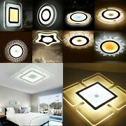12 Style Led Ceiling Downlight Acrylic Wall Panel Lamp Light Living Room Bedroom