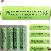 New Aa Ni-mh 1.2v Rechargeable Solar/string/garden Lights /tv Remote Batteries