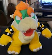 Super Mario Brothers Bros. Bowser 10 Plush Doll Nintendo Toy Great Condition