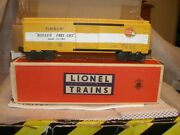 Lionel Postwar 6464-500 Timken Type 2b Boxcar Painted On A Gray Shell Unrun With
