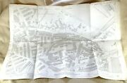 1894 Antique Map Of Holbeck Leeds 19th Century Industrial Mills Foundry Low Hall
