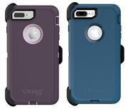 Otterbox Defender Case For Iphone 8 Plus And 7 Plus - Purple/blue - Easy Open Box