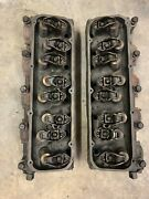Ford 429/460 7.5l Oem Cylinder Heads D3ve-6060-a2a W/ Head Bolts/rockers/rods