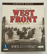 West Front Wwii Big Box Gi Campaign Series Talonsoft Software Pc Cd Rom War Game