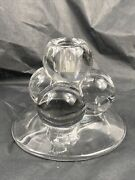Westmoreland 4 Ball 1930and039s Single Candlesticks Candle Holders