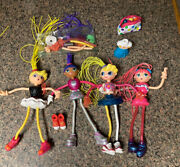Betty Spaghetti Doll Lot Of 5 Oac '97 Extra Parts And Pieces Figure S1