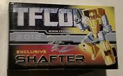 Signed Box Only Transformers Igear Toys 3rd Party Tfcon 2012 Exclusive Shafter