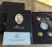 2009 Abraham Lincoln Coin And Chronicles Set - Complete And Original Us Mint Proof
