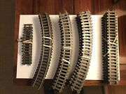 American Flyer Pikemaster Track Lot - Curve, Straight, Terminal Pike Master