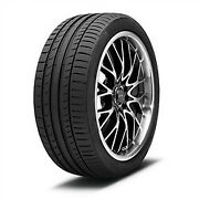 4 New 255/40r19 Continental Contisportcontact 5 Tire 2554019