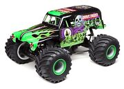 Losi Lmt Grave Digger Rtr 1/10 4wd Solid Axle Monster Truck W/dx3 2.4ghz Radio