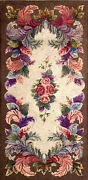 Antique American Hooked Rug 6and0391 X 3and0391