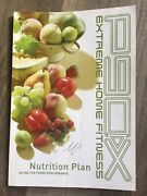 Beachbody P90x Extreme Home Fitness Nutrition Plan Guide Book Used
