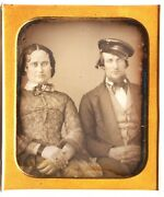 1/6 Wheel Cap Curl Hair Lady Covering Black Mourning Band Daguerreotype Photo