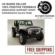 Fab Fours For 2007-2017 Jeep Hardcore Stubby Winch Front Bumper- Jk07-b1854-1