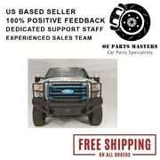 Fab Fours Fits 08-10 Ford F-250/350/450/550 Sd Vengeance Series Rear Bumpers