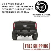 Fab Fours Fits 17-18 Ford F-250/350 Sd Rear Bumpers- Fs17-w4151-1
