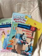 Classroom Books Lot Of 6 Level C-d Disney, Mittens, Carrot Seed, Thomas And More
