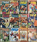 Marvel Thor Comic Book Lot-17🔥 Excellent Condition