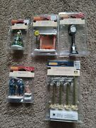 Lot Of Lemax Christmas Village Accessories And Figurines All New