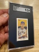Babe Ruth Sgc 9.5 Mint Topps 206 Great Bambino Sultan Man Cave Collector Card
