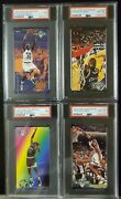 1993 Fleer Jam Session Shaquille Oand039neal 2nd Year Rookie Tall Boy Psa Nm-mt Lot