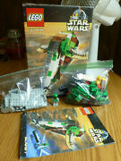 Lego Star Wars Slave I 7144 100 Complete With Box Instructions Minifig