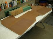 Nos Oem 1964 Chevelle Saddle Brown Front Floor Mat Chevrolet Chevy 1965 1966 Ss