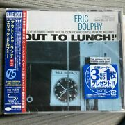 Shm-cd Eric Dolphy Out To Lunch Blue Note +1 Bonus Track Japan