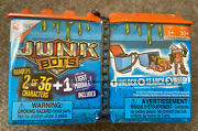 Hexbug Junkbots Dumpster Assortment- 2 Characters + Light Module New And Sealed
