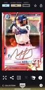 2021 Topps Bunt Digital Bowman Maximo Acosta Red 1st Edition Signature 150cc