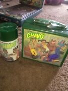 Chavo Vintage Lunch Box El Chavo Lunchbox And Thermos Super Rare Short Production