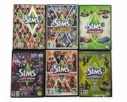 The Sims 3 Pc Video Games And Expansion Packs And Stuff 6 Game Lot All Complete
