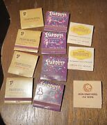 Lot Of 11 Las Vegas And Nevada Casino Matchbooks Frontier, Stardust