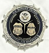 Rare Limited Edition To 100 Us Border Patrol Federal Air Marshal Challenge Coin