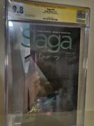 Cgc 9.8 Saga 31 Signed By Fiona Staples Rare And Vhtf 1 Out Of Only 5