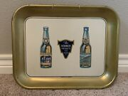 Antique Vintage 1920s Renner Products Beer Tray Grossvater Zepp Akron, Ohio